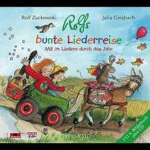 Rolf Zuckowski: Rolfs bunte Liederreise, CD