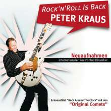 Peter Kraus: Rock'n'Roll Is Back - Neuaufnahmen internationaler Klassiker, CD