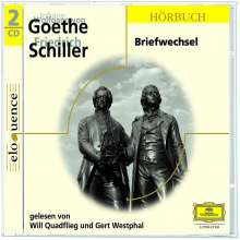Aus dem Briefwechsel Goethe - Schiller, 2 CDs