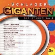 Schlager Giganten - Das ist Kult 2, 3 CDs
