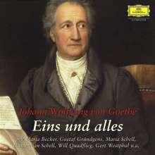 Goethe, Johann Wolfgang von: Eins und alles - Die große Goethe Ausgabe, 38 CDs