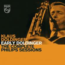 Klaus Doldinger (geb. 1936): Early Doldinger - The Complete Philips Sessions, 4 CDs
