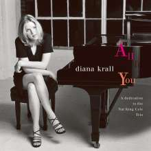 Diana Krall (geb. 1964): All For You - A Dedication To The Nat King Cole Trio, CD