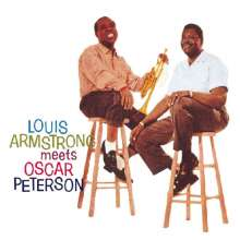 Louis Armstrong & Oscar Peterson: Louis Armstrong Meets Oscar Peterson (16 Tracks), CD