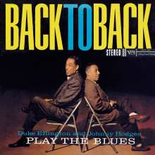 Duke Ellington & Johnny Hodges: Play The Blues Back To Back, CD