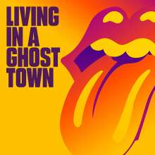 The Rolling Stones: Living In A Ghost Town (Limited Edition) (Orange Vinyl), Single 10""