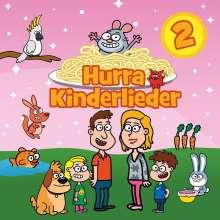 Hurra Kinderlieder 2, CD