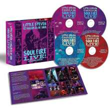 Little Steven (Steven Van Zandt): Soulfire Live! (Expanded Edition), 4 CDs
