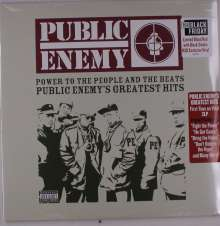 Public Enemy: Power To The People And The Beats: Public Enemy's Greatest Hits (Limited Edition) (Blood Red W/ Black Smoke Vinyl), 2 LPs