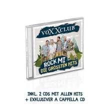 voXXclub: Rock mi: die größten Hits (Deluxe Edition), 2 CDs