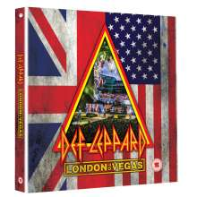 Def Leppard: Hits Vegas: Live At Planet Hollywood, 2 CDs und 1 Blu-ray Disc