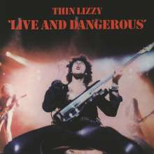 Thin Lizzy: Live And Dangerous (180g), 2 LPs