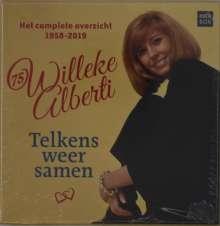 Willeke Alberti: Telkens Weer Samen: Het Complete Overzicht 1958 - 2019, 25 CDs