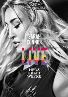Sarah Connor: HERZ KRAFT WERKE LIVE (Fan Edition), 2 CDs, 1 DVD und 1 Blu-ray Disc