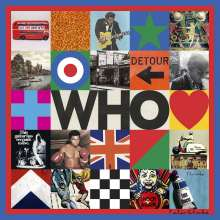 The Who: Who (180g) (Limited Edition) (LP 1: Black Vinyl/LP 2: Cream Colored Vinyl) (45 RPM) (exklusiv in D-A-CH für jpc!), 2 LPs
