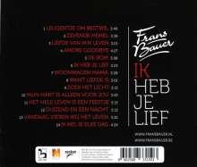 Frans Bauer: Ik Heb Je Lief, CD