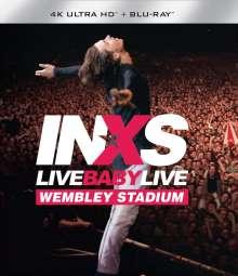 INXS: Live Baby Live (4K-UHD Blu-ray + Blu-ray), 2 Blu-ray Discs