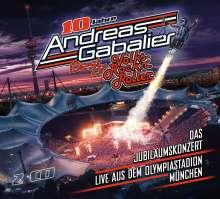 Andreas Gabalier: Best Of Volks-Rock'n'Roller: Das Jubiläumskonzert live aus dem Olympiastadion in München, 2 CDs