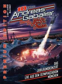 Andreas Gabalier: Best Of Volks-Rock'n'Roller: Das Jubiläumskonzert live aus dem Olympiastadion in München, 5 CDs