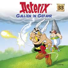 Asterix 33: Gallien in Gefahr, CD