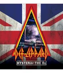 Def Leppard: Hysteria At The O2, 1 Blu-ray Disc und 2 CDs