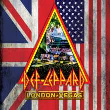 Def Leppard: London To Vegas (Limited Deluxe Box), 2 Blu-ray Discs und 4 CDs