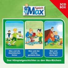 Max-3-CD Hörspielbox Vol.2, 3 CDs