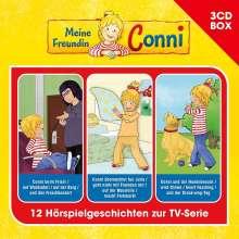 Meine Freundin Conni-3-CD Hörspielbox Vol.3, 3 CDs