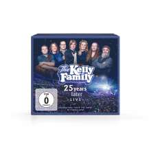 The Kelly Family: 25 Years Later - Live (Deluxe Edition), 2 CDs und 2 DVDs