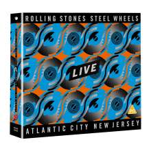 The Rolling Stones: Steel Wheels Live (Atlantic City 1989), 1 DVD und 2 CDs