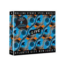 The Rolling Stones: Steel Wheels Live (Atlantic City 1989), 2 CDs und 1 Blu-ray Disc