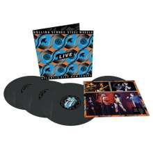 The Rolling Stones: Steel Wheels Live (Atlantic City 1989) (180g) (Limited Edition), 3 LPs und 1 Single 12""