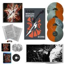 Metallica: S&M2 (Limited Edition Deluxe Box) (Colored Vinyl) , 4 LPs, 2 CDs und 1 Blu-ray Disc