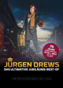Jürgen Drews: Das ultimative Jubiläums-Best-Of (limitiertes Fotobuch), 2 CDs