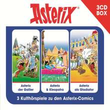 Asterix 3 CD-Hörspielbox, 3 CDs