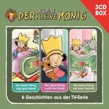 Der kleine König 3 CD-Hörspielbox, 3 CDs