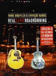 Mark Knopfler & Emmylou Harris: Real Live Roadrunning (Special-Edition), 1 DVD und 1 CD