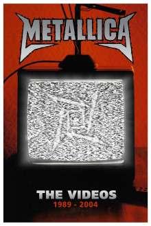 Metallica: The Videos 1989 - 2004, DVD