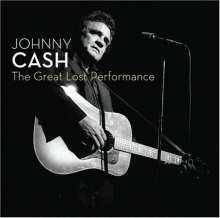 Johnny Cash: Great Lost Performances - Live, CD