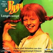Astrid Lindgren - Wir singen mit Pippi, CD