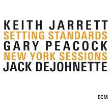 Keith Jarrett (geb. 1945): Setting Standards: New York Sessions, 3 CDs