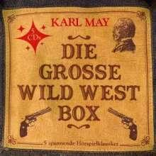 Karl May - Die große Wild West Box (5 Hörspielklassiker), 5 CDs