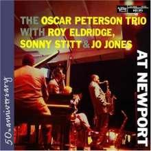Oscar Peterson (1925-2007): At Newport - Live, CD