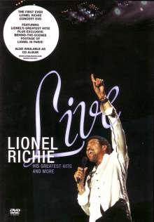 Lionel Richie: Live - His Greatest Hits And More, DVD