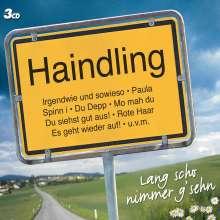 Haindling: Lang scho nimmer g'sehn, 3 CDs
