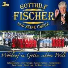 Gotthilf Fischer: Wohlauf in Gottes schöne Welt, 3 CDs
