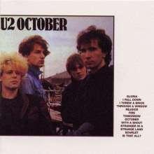 U2: October (180g) (remastered), LP