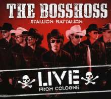 BossHoss: Stallion Battalion: Live From Cologne - Ltd. Ed. (2CD+DVD), 2 CDs