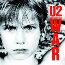 U2: War, CD