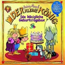 Der Kleine König, Die königliche Geburtstagsbox, 4 Audio-CDs, 4 CDs